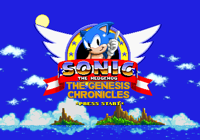 Sonic The Hedgehog Genesis Chronicles Title Screen By Fawful117 The Epic On Deviantart