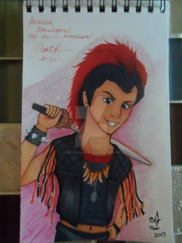 Rufio - Bangarang~! by AceKeybladeMaster on DeviantArt