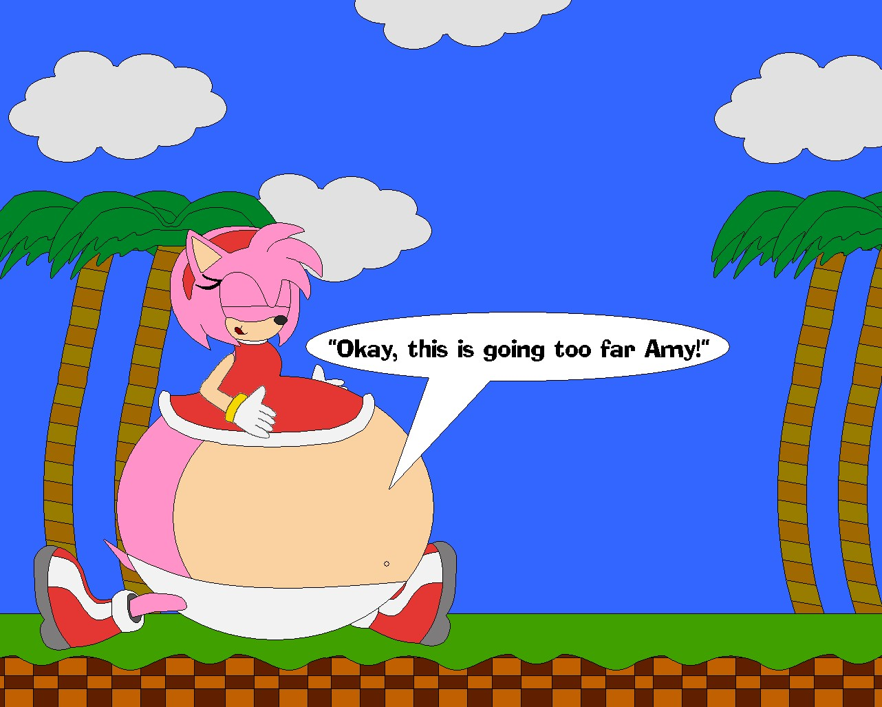 Amy Off Of Sonic amy ate sonickphoria on deviantart