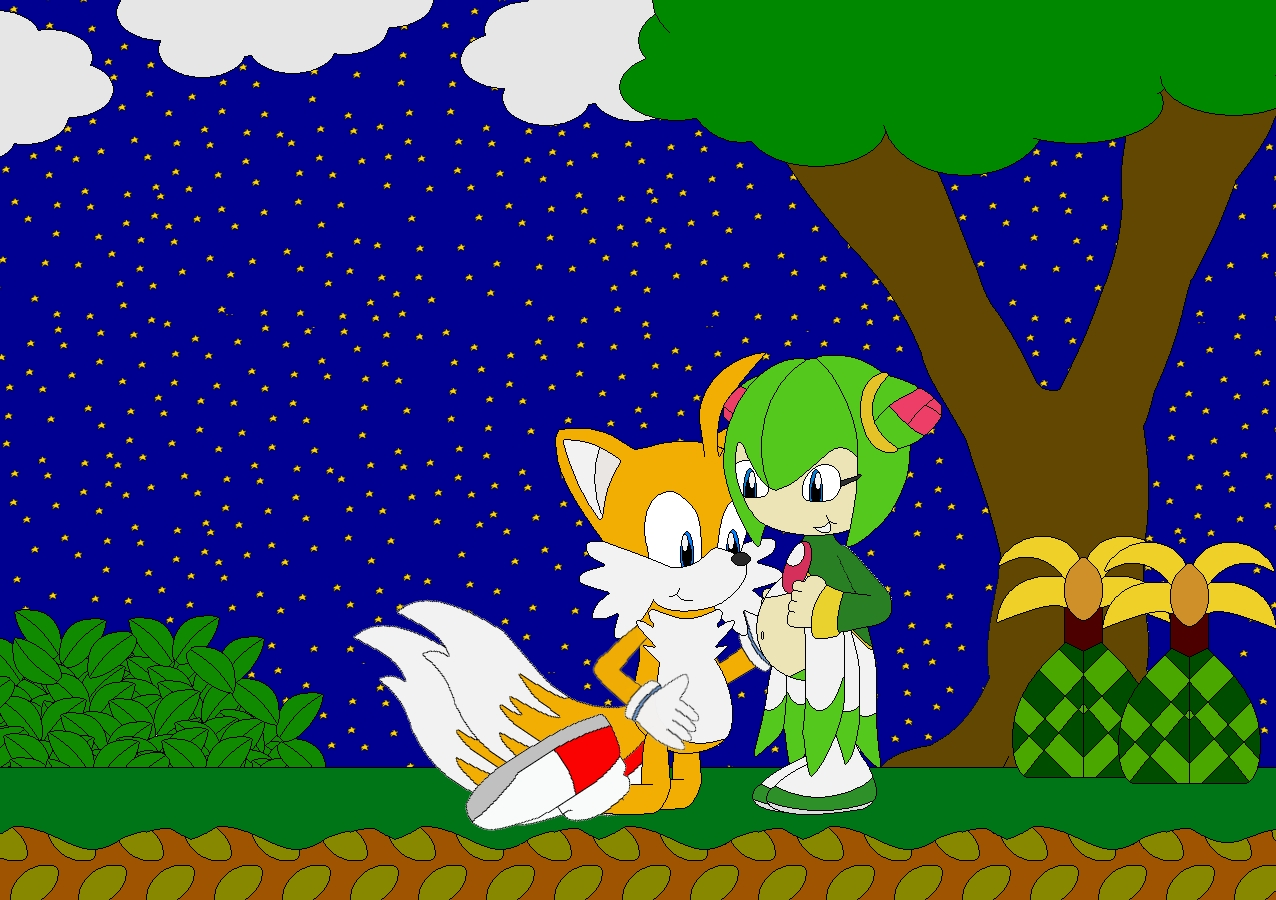 Tails' And Cosmo's Baby by Kphoria on DeviantArt