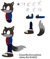 Euvoria-Ashley The Wolf Sheet by Kphoria