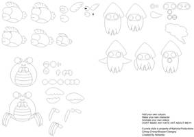 SMB Water Enemy Char Builder by Kphoria