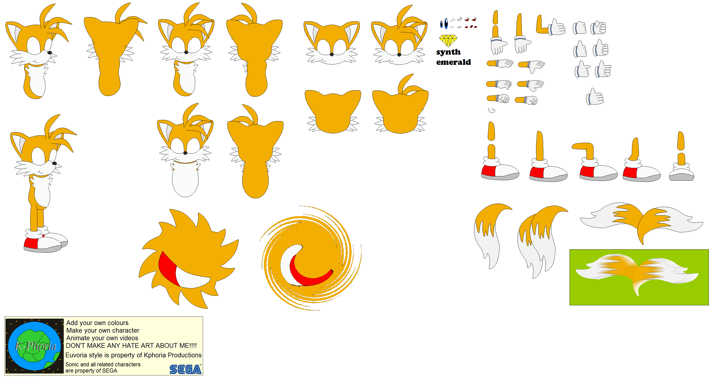 character builder miles tails prower by kphoria on deviantart