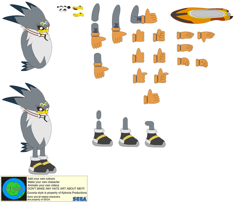 The eagle characters
