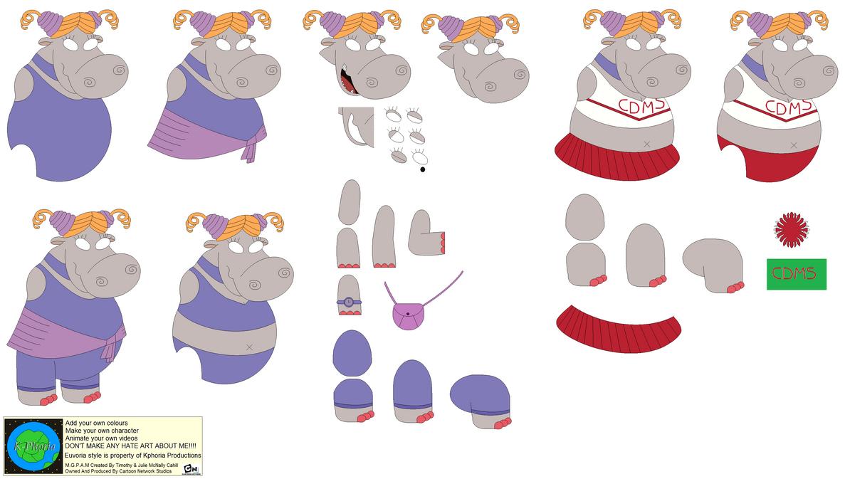Character Builder-Latanya Hippo by Kphoria on DeviantArt