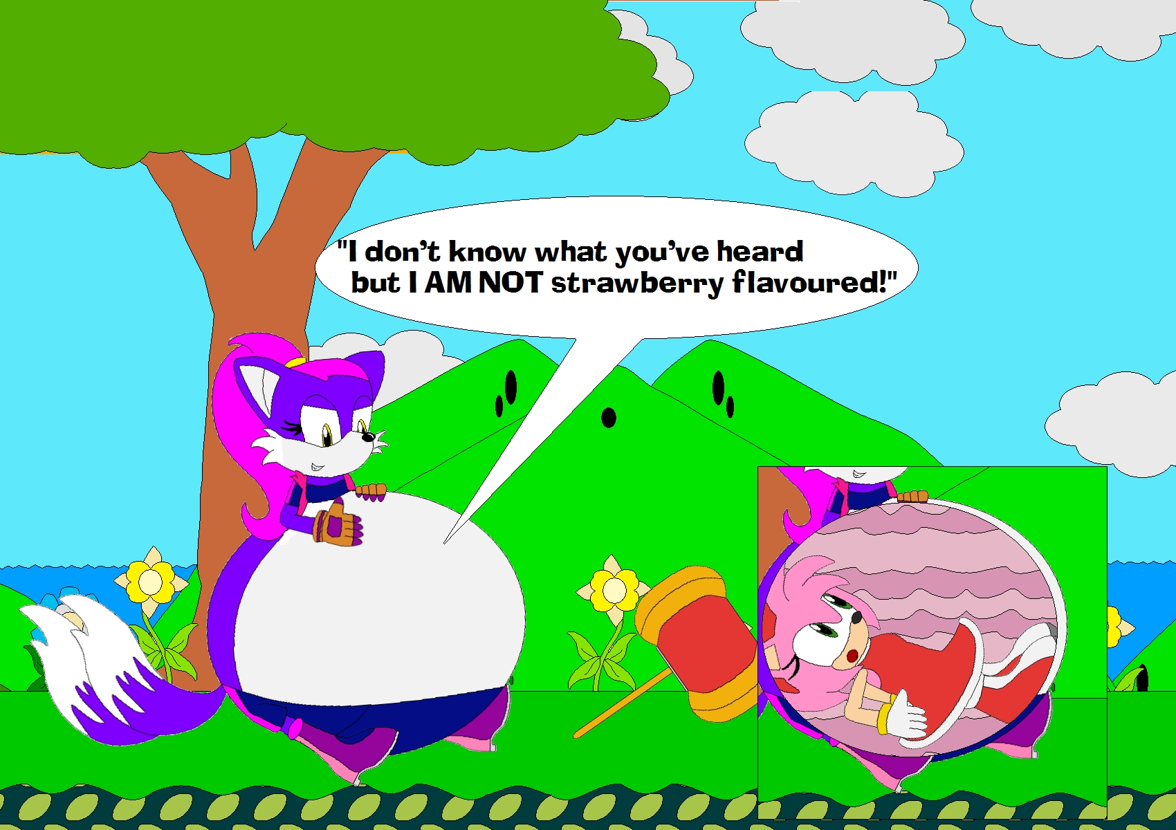 Sonic Vore Amy Rose: Avey Ate Amy Rose By Kphoria On DeviantArt
