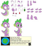 Character Builder-Spike The Dragon