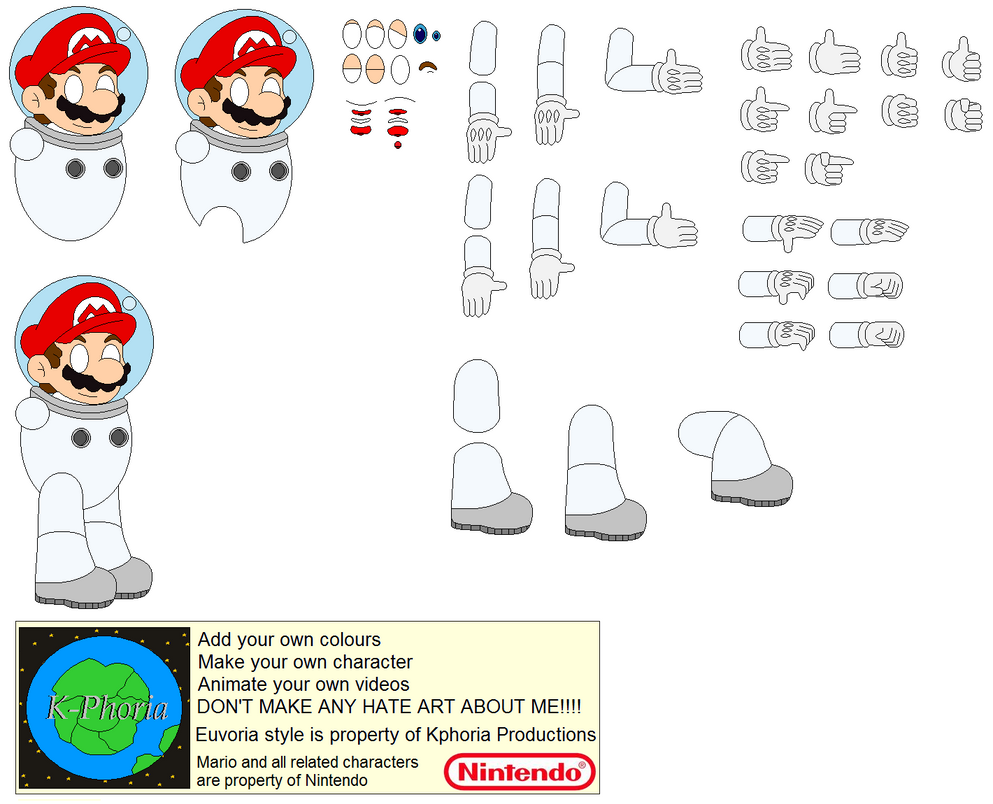 Character builder spacesuit mario by kphoria on deviantart for Virtual suit builder