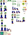 Character Builder-Super Luigi