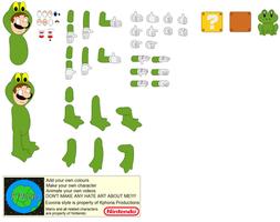 Character Builder-Frogsuit Luigi by Kphoria