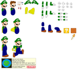 Character Builder-Caped Luigi