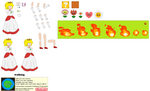 Character Builder-Fire Princess Peach
