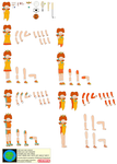 Character Builder-Princess Daisy (Sport Outfit