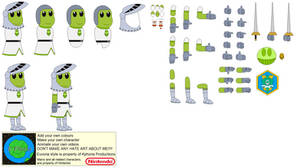 Character Builder-Beanbean Castle Guard