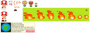 Character Builder-Fire Toad