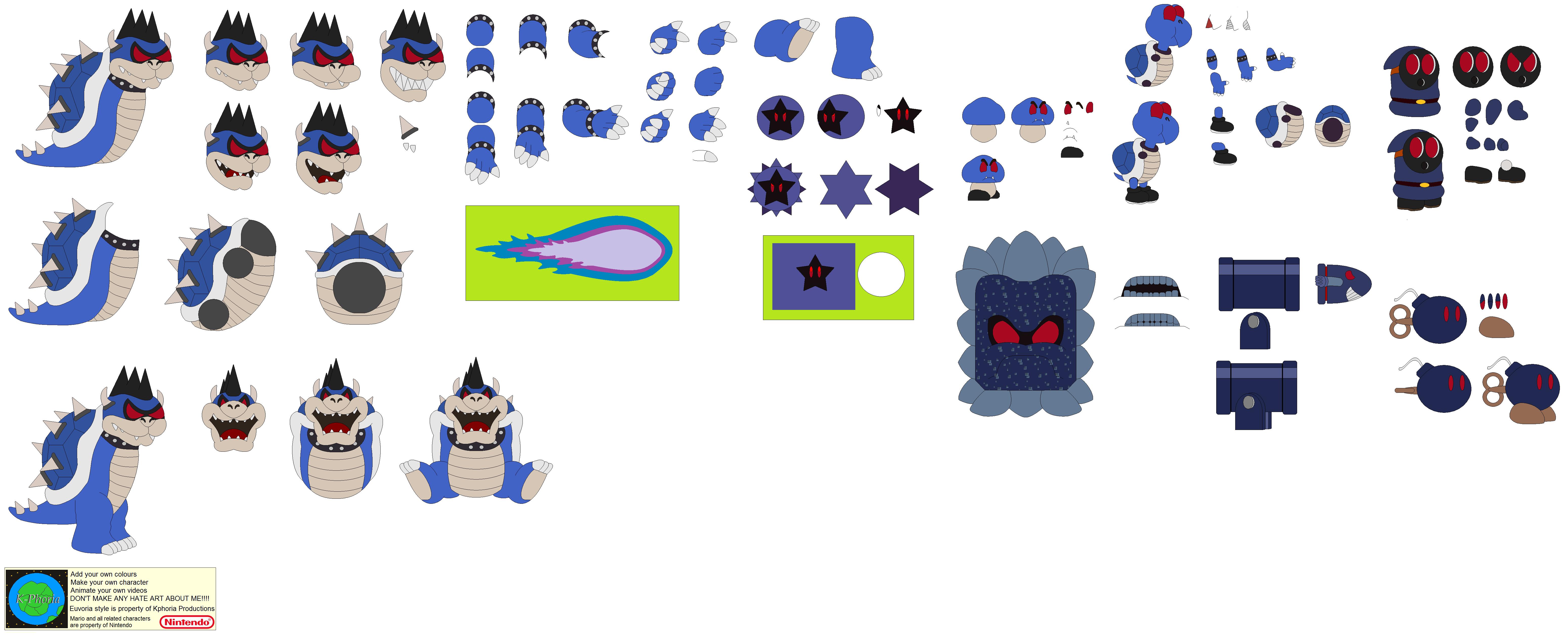 Character Builder Dark Star Bowser By Kphoria On Deviantart