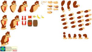 Character Builder-Donkey Kong