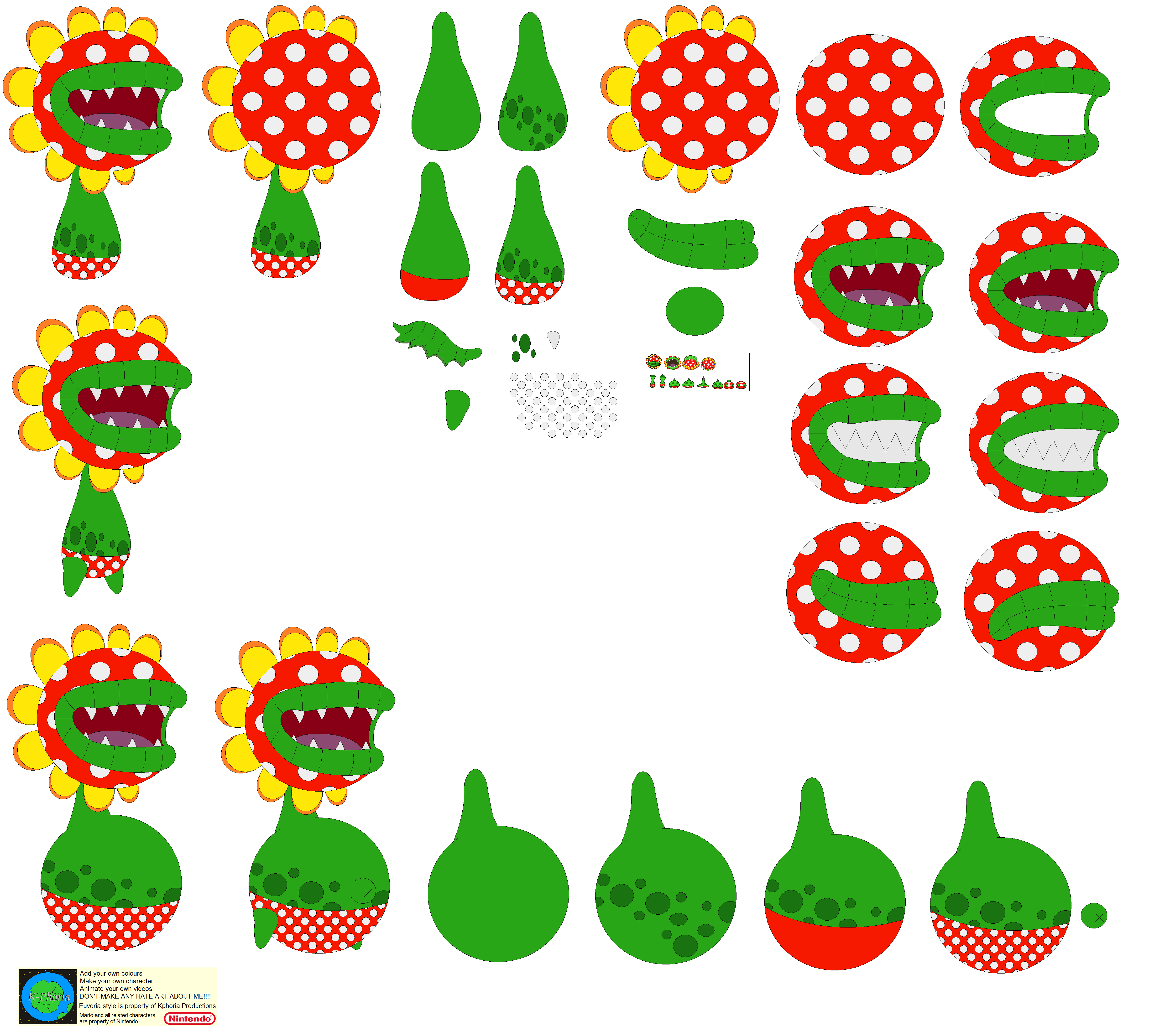 Character Builder-Petey Piranha By Kphoria On DeviantArt