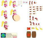 Character Builder-Dixie Kong