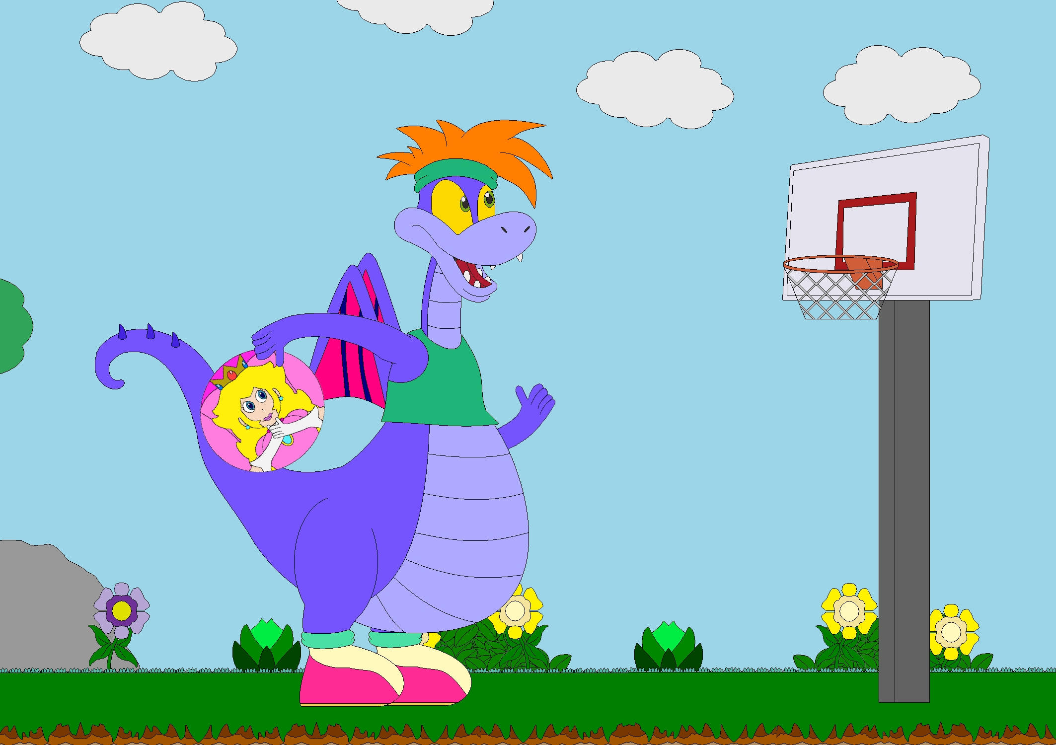 Nellie S Basketball Princess By Kphoria On Deviantart Princess Basketball