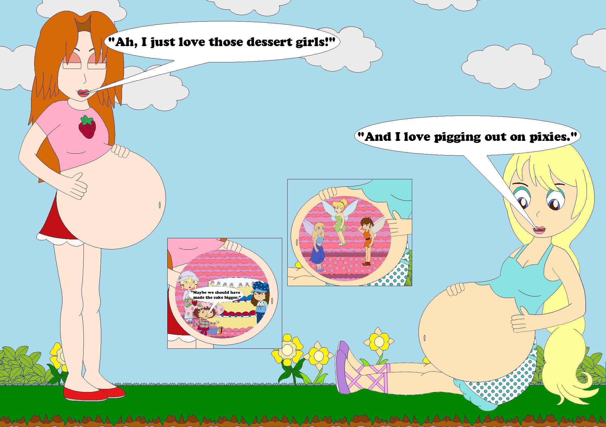 Giantess Tinkerbell in may and jill's snacktimekphoria on deviantart
