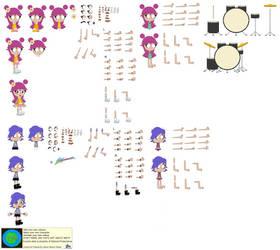 Character Builder-Puffy AmiYumi