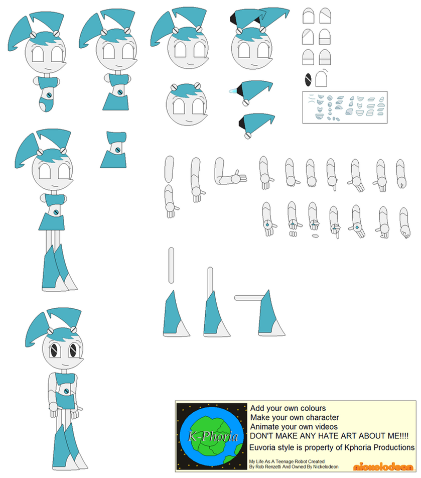 Character Builder-Jenny Wakeman (XJ-9) by Kphoria