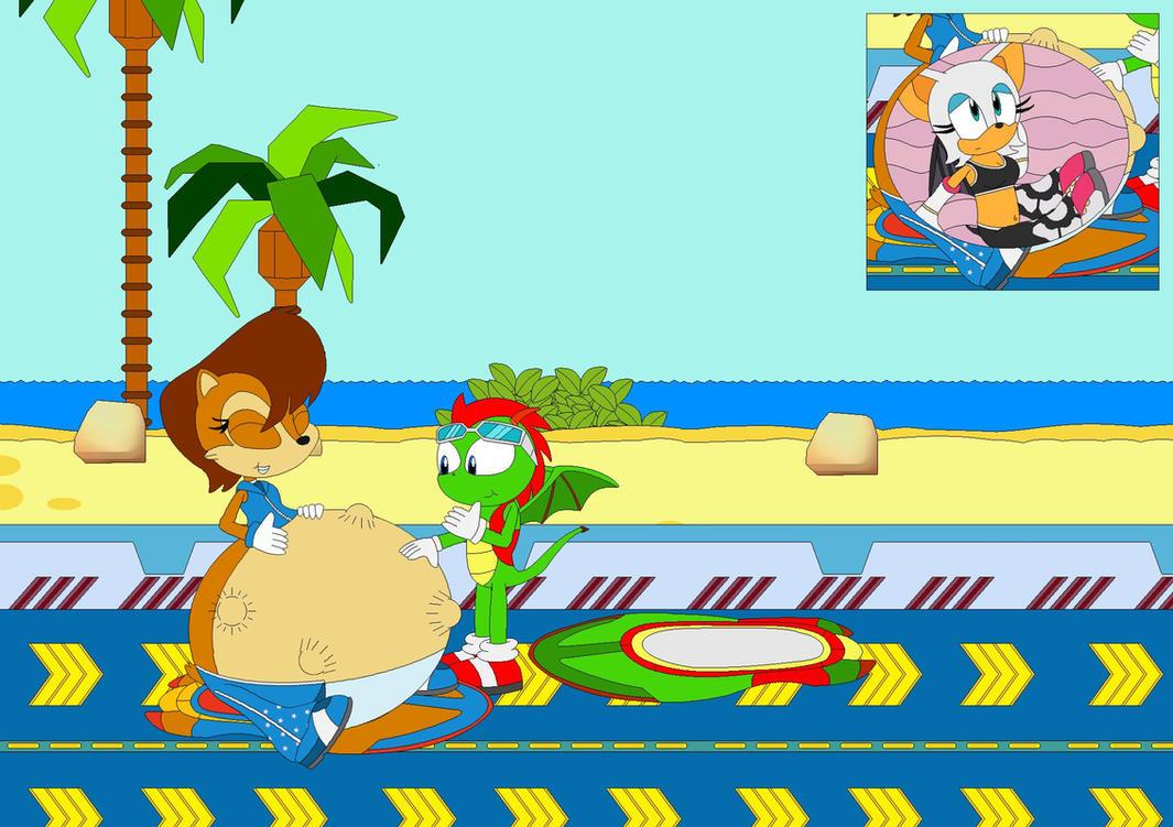 Sally's Race Track Revenge by Kphoria