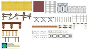Background Builder-Fences
