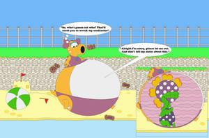 Snorkelle And Penny Piranha