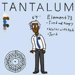 The Odd and Baryonic: Tantalum