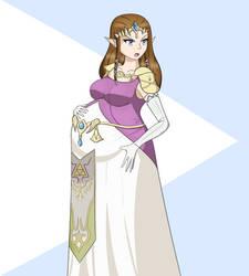 Annoyed Preggo Zelda by Pacci-d