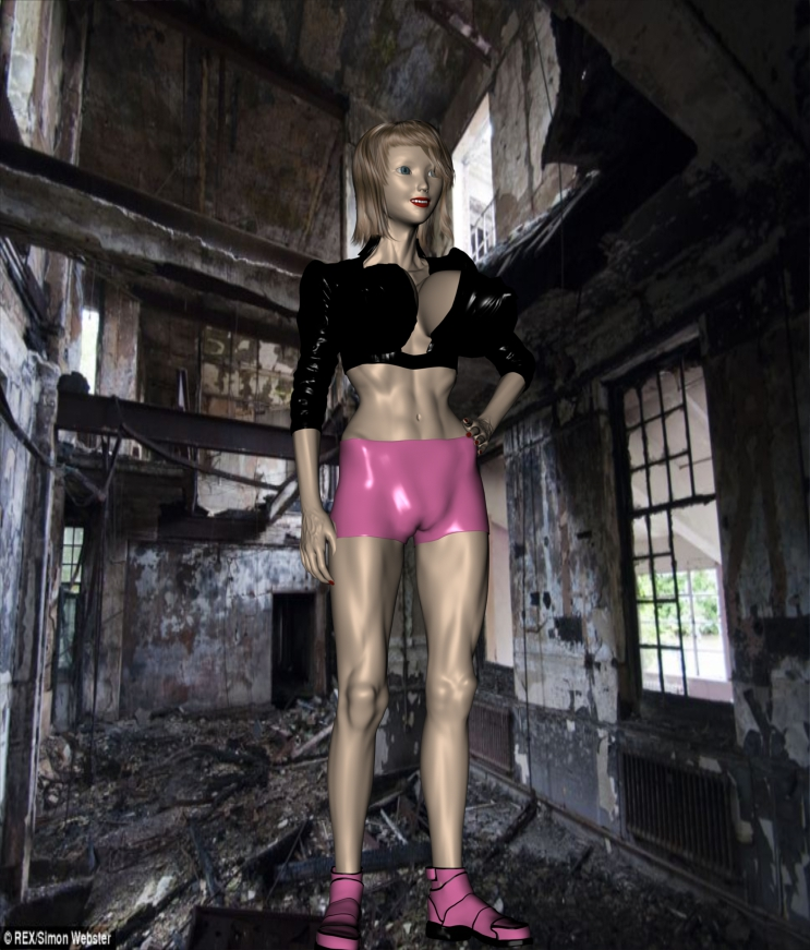 Leena Adams...AKA Fleximatrix. by Phoenix3dart