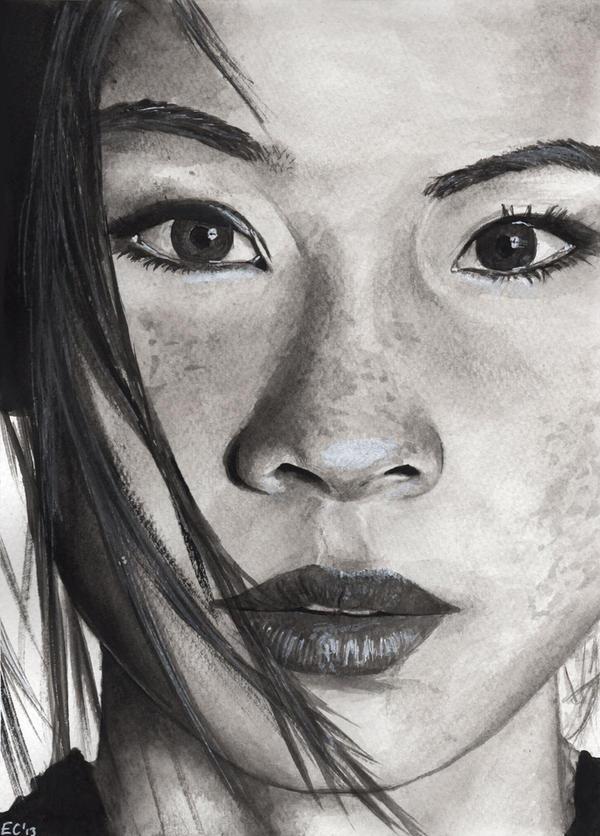 Lucy Liu by LimeyCitrus