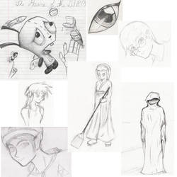 2007 Doodles by Cyber-Blade
