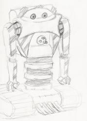 Strange Robot by Cyber-Blade