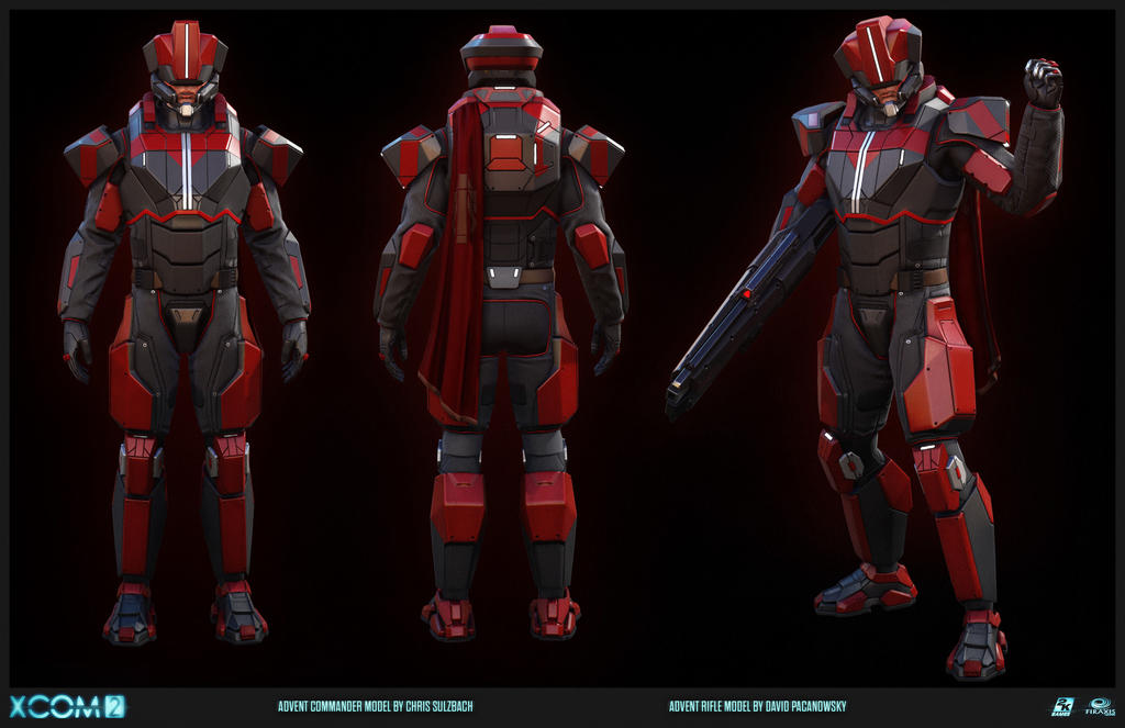 the universe of xcom advent advent officer by. Black Bedroom Furniture Sets. Home Design Ideas