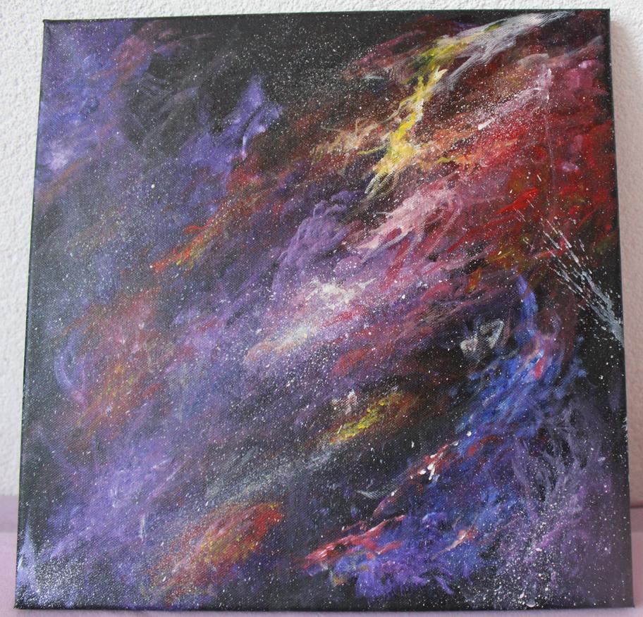 Space #1 by Kasafusutan