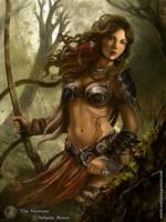 The Huntress by nathaliagomes