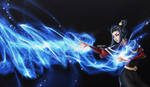 Azula Fan Art by infinitydevin