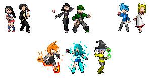 Pokemon custom trainers by superpivot1231