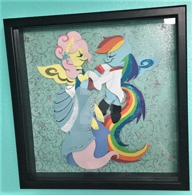 Pinkie Tales Cindershy Shadow Box! by Magpie-pony