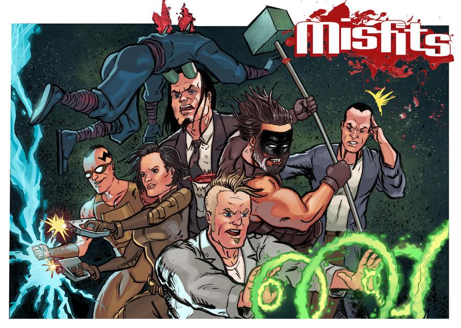 Misfits #3 panel by VegasDay