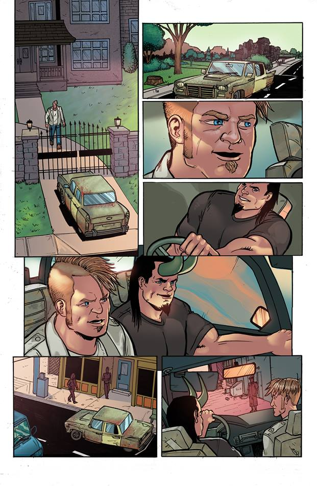 Page from Misfits #4 by VegasDay