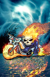 Chibi Ghostrider by VegasDay