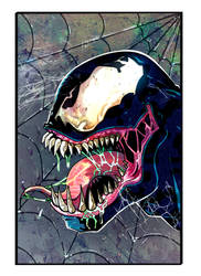 Venom commission by VegasDay