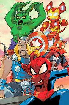 Marvel Scavengers!