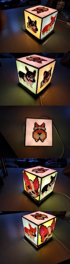 Corgi Lamp