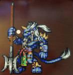 Kimahri from Final Fantasy X by psycosulu