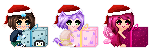 Christmas Icons Batch 1 (animated files in desc.) by MaxyChu